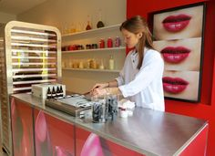 LIP SERVICE: Create custom lipstick at BITE Lip Lab! This would be cool for a girls' night out.  http://www.purewow.com/entry_detail/ny/6027/Create-custom-lipstick-at-BITE-Lip-Lab.htm#ixzz2cVy3xBJd
