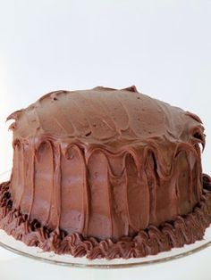 Once Upon A Chocolate Life: Hershey's Perfectly Chocolate Cake This is the best chocolate cake ever! Old Fashioned Chocolate Cake, Best Chocolate Cake, Homemade Chocolate, Chocolate Desserts, Chocolate Frosting, Easy Chocolate Cake Recipe, Chocolate Chocolate, Chocolate Lovers, Just Cakes