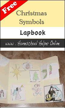 Homeschool Helper Online's Christmas Symbols Lapbook