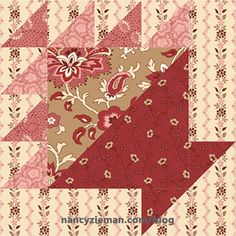 May Basket Quilt Block 2017 Block of the Month by Nancy Zieman/Sewing With Nancy