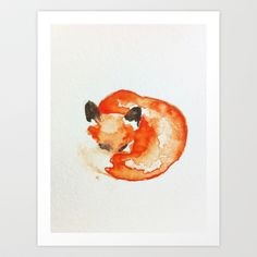 fox+Art+Print+by+Carrie+Booth+-+%2416.00