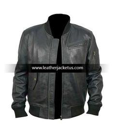 leather jacket http://leatherjacketus.com/product/mens-stylish-pocket-black-leather-jacket/