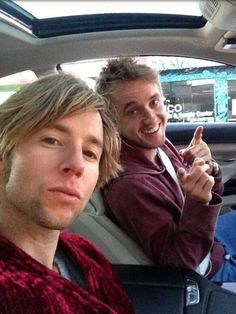 Gregory Michael Cipes and Tom Felton