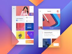 Hello Dribbblers! Check out our new take on a social network app. Let us know your thoughts about it. Happy Wednesday!  *** Want to say hi? Drop us a few lines at hello@outcrowd.io  Or be a part of...
