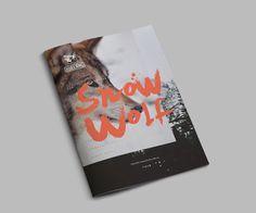 Editorial Design Inspiration: Snow Wolf: http://www.playmagazine.info/editorial-design-inspiration-snow-wolf-2/