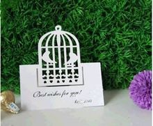 Лазерная резка место для свадебной белая книга раза стол имя карты ну вечеринку украшения оптовая продажа 100 шт./лот - 168 - 63(China (Mainland))