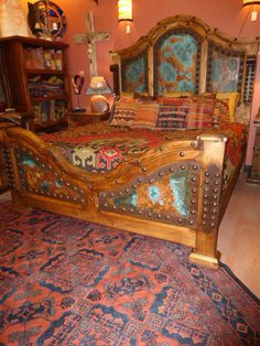 Acid Copper Bed - stunning!