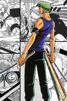 I loved zoro's clothes is skypiea