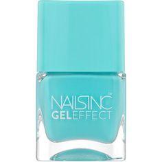 Nails inc Gel Effect Nail Polish, Queens Gardens 0.47 oz (14 ml)