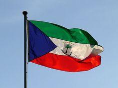 Bandera de Guinea Ecuatorial - Flag of Equatorial Guinea