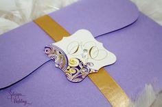 Gorgeous Pattern Wedding Invitation by SDezigns on Etsy