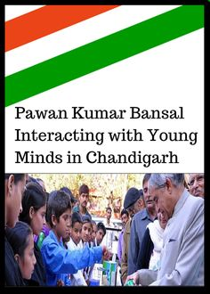 #Pawan_bansal Interacting with Young Minds in Chandigarh #pawan_kumar_bansal