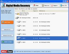 If you want to recover lost data from computer, the free data recovery software downloaded from this website can help you. Besides recovering lost photos computer, the software can also realize photo recovery from other storage devices.