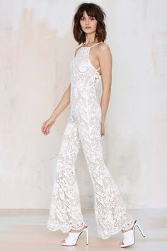 dc827813a1d6 Stone Cold Fox Elliot Lace Flare Jumpsuit - All