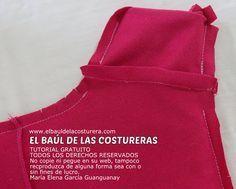 Terminaciones de costura profesionales en blusas sin mangas. Aplicación de vistas en sisas y escotes