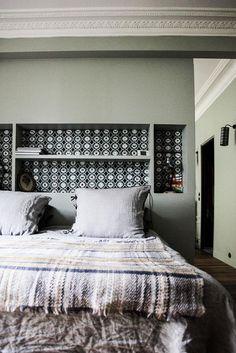 chambre gris Laure Vial du Chatenet