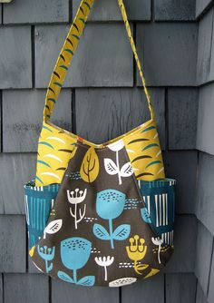241 tote by noodlehead, outside oslo fabric by jessica jones, bag by poppyprint on flickr