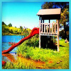 Traismauer Badeteich Park, Water Pond, Bathing, Parks