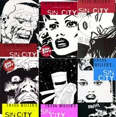 Frank Miller • Sin City (7 Graphic Novels) #3-The Hard Goodbye-(1/13/14) #4-A Dame to Kill for-(1/13/14)