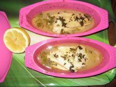 Un plat de saison : papillote de flétan au basilic http://www.gourmicom.fr/papillote-de-fletan-au-basilic/