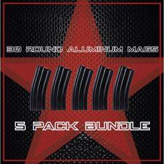 DB15 30 Round Standard Aluminum Magazine, (5) PACK BUNDLE #db15 #ar15 #magazine #rifle Rifle Accessories, 30th, Packing, Magazine, Bag Packaging, Magazines, Warehouse, Newspaper