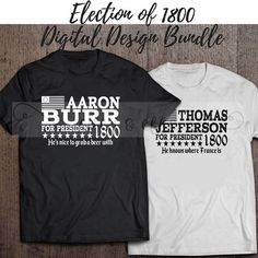 HAMILTON INSPIRED Digital Designs The Election of 1800