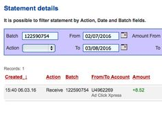 I am getting paid daily at ACX and here is proof of my latest withdrawal. This is not a scam and I love making money online with Ad Click Xpress.I WORK FROM HOME less than 10 minutes and I manage to cover my LOW SALARY INCOME. If you are a PASSIVE INCOME SEEKER, then AdClickXpress (Ad Click Xpress) is the best ONLINE OPPORTUNITY for you. Ask those who are earning extra money every month! Viewing websites is so easy! Get paid DAILY!https://twitter.com/stehribis/status/706890366000230401