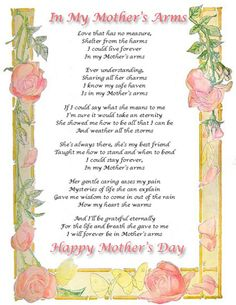 Mother's Day Poem.