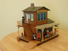 Playmobil, 3770, Extremely Rare, Vintage, Colorado Spring Station | eBay