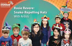 Rosie Revere, Engineer: Building Snake-Proof Hats at DuPage Children's Museum - YouTube
