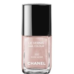 Chanel Rose Moiré - Le Vernis 593 Efeito Metálico Mirrored Effect