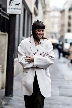 Paris Couture Fashion Week Street Style Spring 2018.