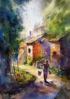 Great Painting.!!! via MERCEDES AÑOTO