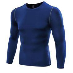 Mens Compression Long Sleeve Tight Shirts