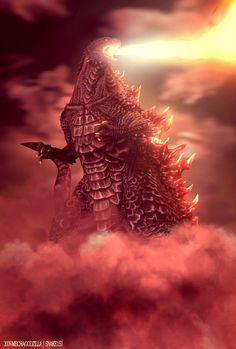 All Godzilla Monsters, Godzilla Vs, Original Godzilla, Monster Board, Portal 2, Me Me Me Anime, Lion Sculpture, Creatures, Statue