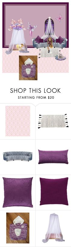 """""""Hand Knit Cotton Baby Dress & Headband"""" by bamasbabes on Polyvore featuring Pom Pom at Home, Haute House, Missoni Home and Zoeppritz"""