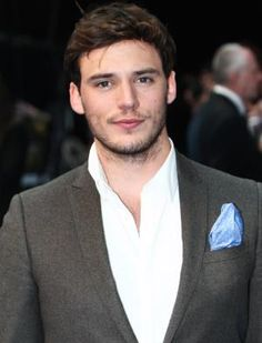 """Sam Clafin. Whoever the hell said this guy wasn't """"Hot enough"""" to play Finnick Odair is a moron!"""