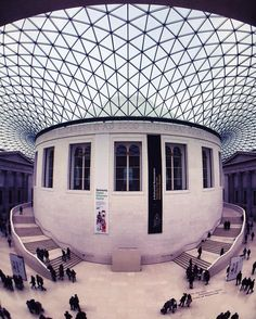 The British Museum. #London #iphoneonly #olloclip # - Follow my Snapchat!  meletis  by meletispix
