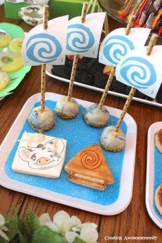doces festa Moana