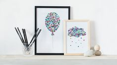DIY : Creative illustrations with hole puncher by Søstrene Grene
