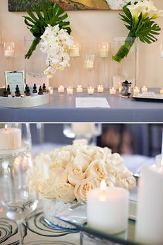 """Gorgeous """"Five Senses Inspired"""" Bridal Shower // Hostess with the Mostess®"""