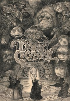 "Dark Crystal - David Thierree ---- Art featured in Gallery1988 presents ""Crazy 4 Cult Back in LA"" Art Show (2014-12)"