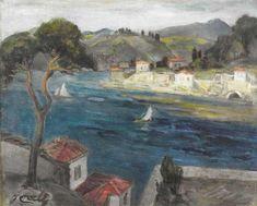 Landscape by İbrahim Çallı