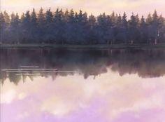 """""""Anna dai capelli rossi, 2° puntata"""" -  La magia del laghetto che tanto colpirà Anna Shirley. La stessa delicata natura che si respira a Cavendish (PEI, Prince Edward Island - Canada) dove ha luogo la vicenda narrata da Lucy Maud Montgomery"""