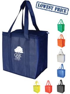 $4:07 per 100 including print one colour  Factory Direct Race Day Cooler Bags