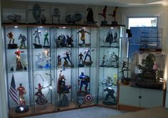 How to make a Kickass (and cost effective) Statue Display! - Page 2 - STATUE M A R V E L S