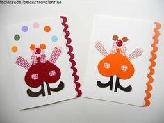 La classe della maestra Valentina: INVITI PER LA FESTA DI CARNEVALE