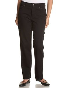Gloria Vanderbilt Women's Short Amanda Classic Tapered Jean