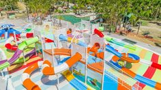 New Mega Waterpark At Kid-Friendly Holiday Resort; Sydney kids, Sydney families, family holidays, family resorts, Big4, Whitsundays