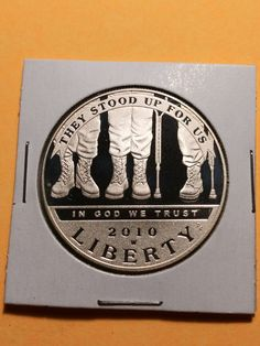 American veterans disabled for life silver commemorative coin Etsy Co, Silver Certificate, American Coins, American Veterans, Coins For Sale, Commemorative Coins, In God We Trust, Old Coins, Silver Dollar